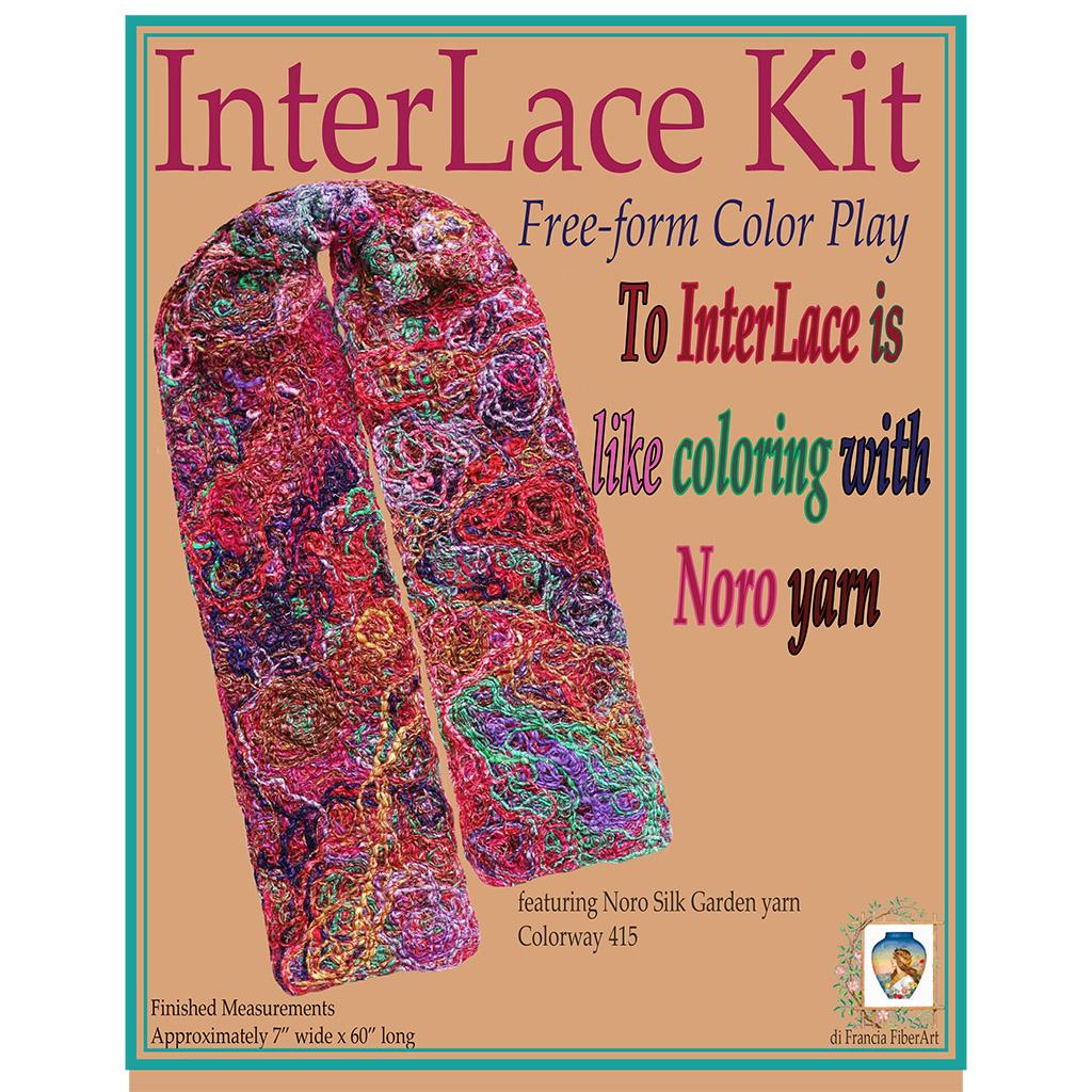 Noro Silk Garden Freeform Color Play Diy Interlace Kit Yarn The Colorplay 415 I