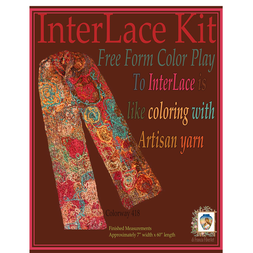 Noro Silk Garden FreeForm Color Play DIY InterLace Kit – Yarn InterLace